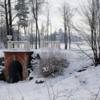 """""""красный мостик"""" в старом парке"""