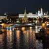 Московский Кремль в полночь