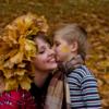 Их было трое : мама, сын и осень