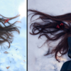 Ледяной портрето-натюрмотр :)