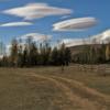 Летели облака