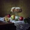 Аромат яблочного кекса