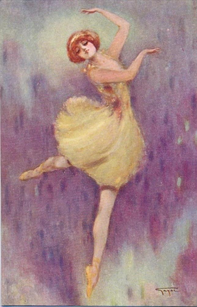 Открытки балета