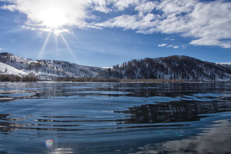 фотографии озера маркаколь в казахстане скважин