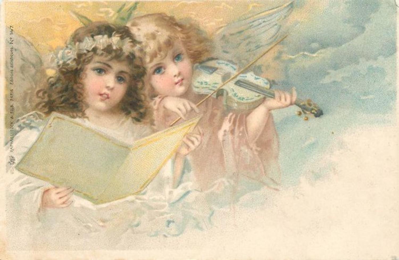 День ангела картинки старинные, фатима