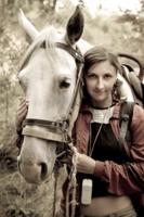 лошадиный портрет