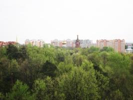 над городом Раменское