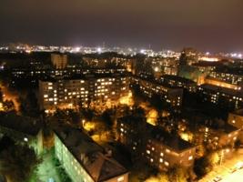 Ночные огни любимого города.