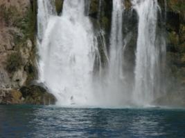 арбузный водопад