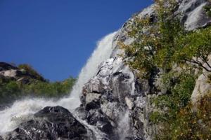 Домбай. Водопад на горе Алибек
