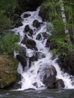водопад на р.Кумир