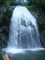 водопад на Телецком