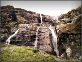 Архыз, водопад...2