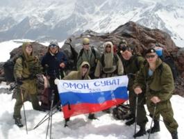 Учения спецназа в горах Кавказа