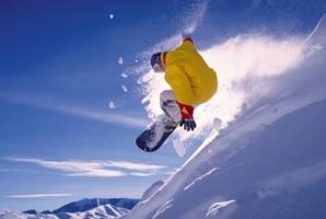 зимний прыжок