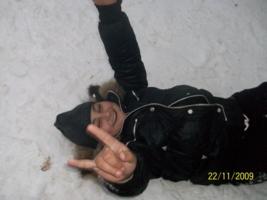 первый снег первая радость^_^