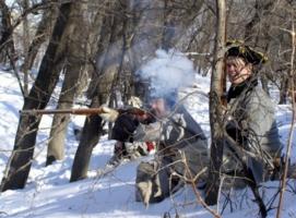 зимняя охота 200 лет назад