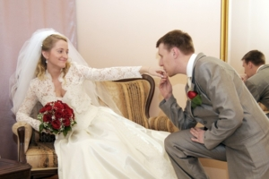 Самый дорогой букет - свадебный.