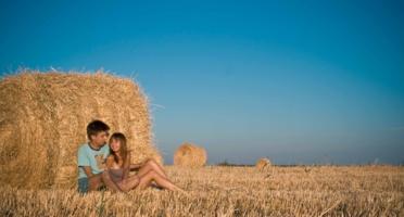 Пора любви среди полей