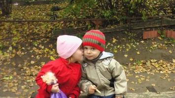 Детская любовь....