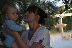 Материнская любовь-это вечно...