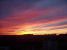 романтика вечернего города