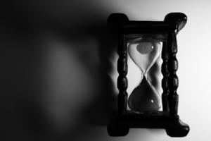 время больше не бежит