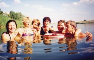день рождения на воде