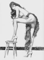 Рисунок танцовщицы...