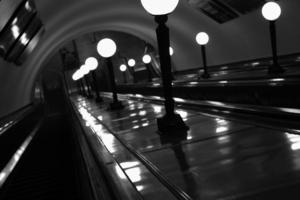 и вновь метро после расставания.