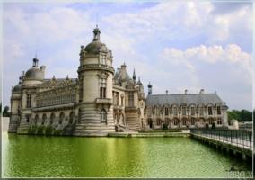 Замок Шантийи...