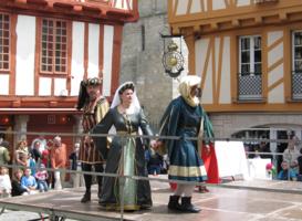 Исторический праздник в г. Ванн