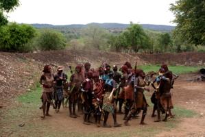 танцы племени Хамер(Эфиопия)
