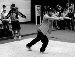 Эмоции уличного танца