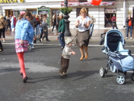 мама и я танцую
