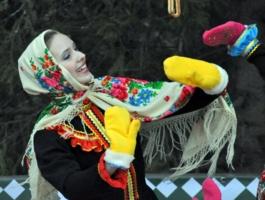 """Русский танец """"варежки"""""""