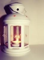 белый фонарь