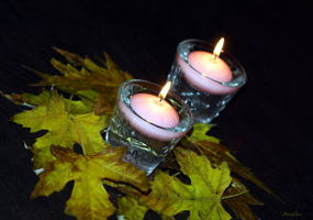 Ведь осень-это вечер при свечах