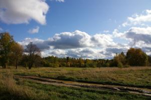 В небе тают облака