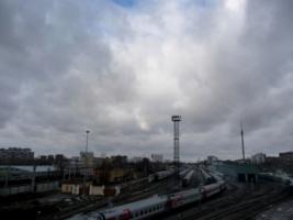 Тучи над железной дорогой