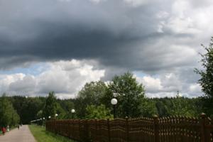 Приближение дождя