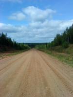 Дорога в Лешуконское