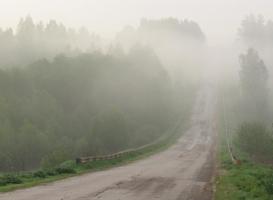 Дорога, ведущая в туман....