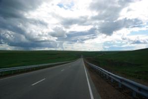 Дорога в облака...