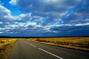 Геометрия дорог. Нереальное небо