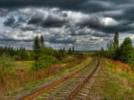 Железнодорожний пейзаж