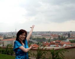 Сегодня в Праге Я....