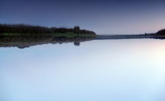 глубина неба и озера