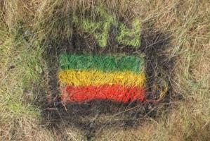 Эфиопии флаг