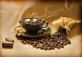 Чашечка ароматного кофе